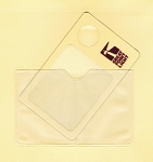 Great Point Wallet Magnifier Credit Card Size up to 4X With Case