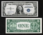 $1 Silver Certificate Blue Seal Series 1935 (Select your Condition)