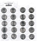 National Park Quarters Set 2010-2013 Complete Set P&D 40 Uncirculated Coins Packaged and sealed by Dollar Deal