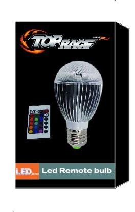 Top Race® Remote Control Multi Color 12W RGB Changing LED Light Bulb Mood Light with Built in Memory Function