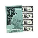 Subject sheet of 32 Uncut $1  Bills Series 2009